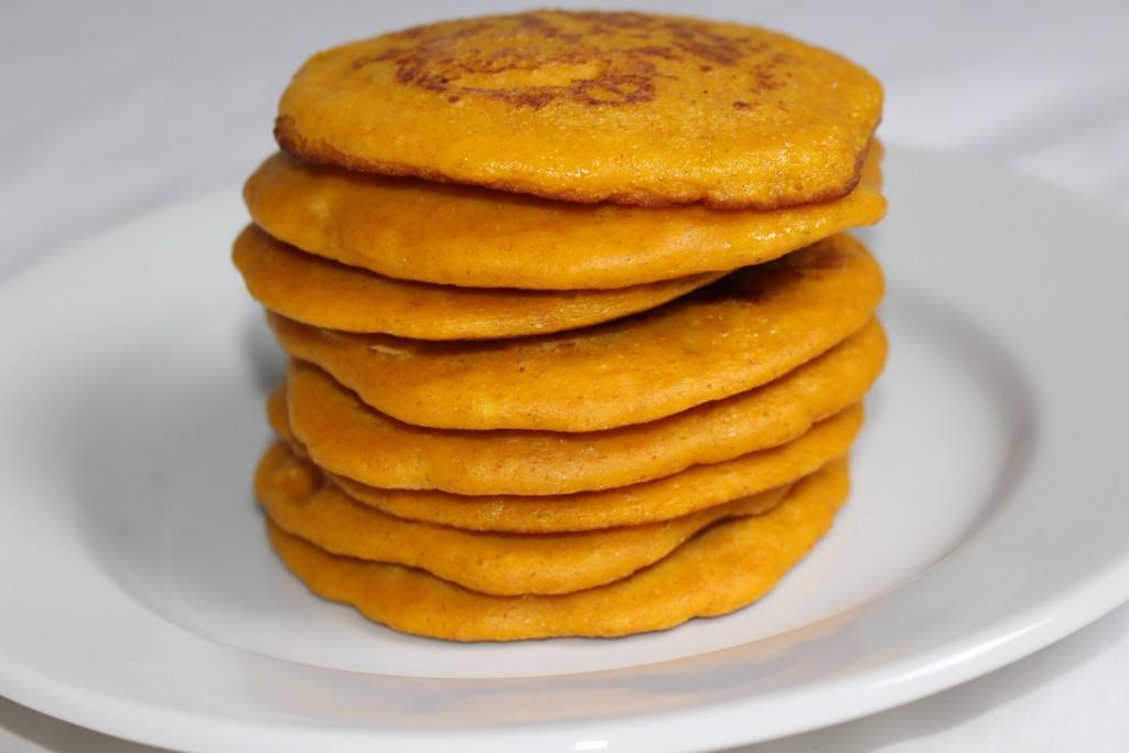 Pancakes moelleux au potimarron