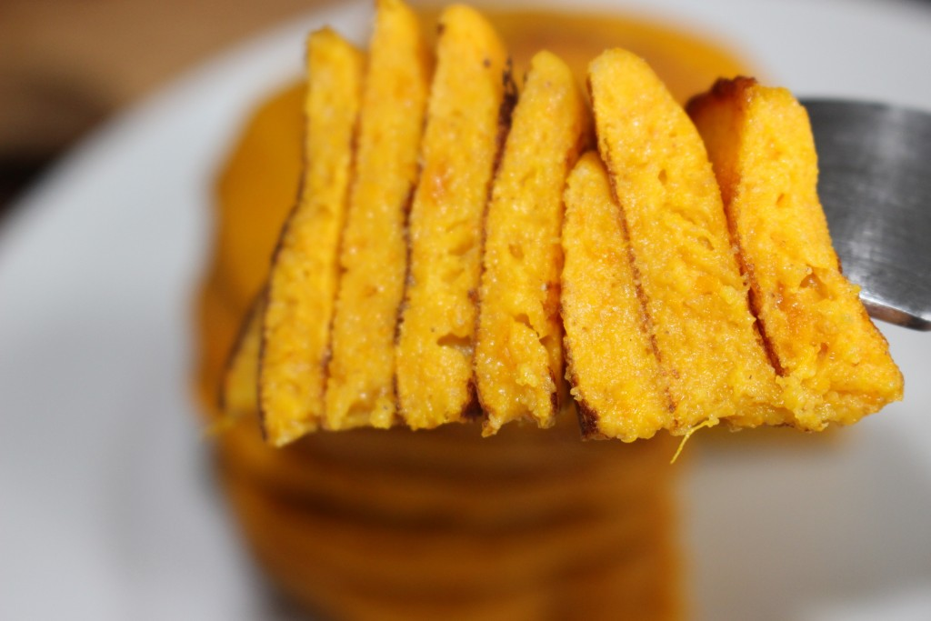Pancakes d'automne au potimarron