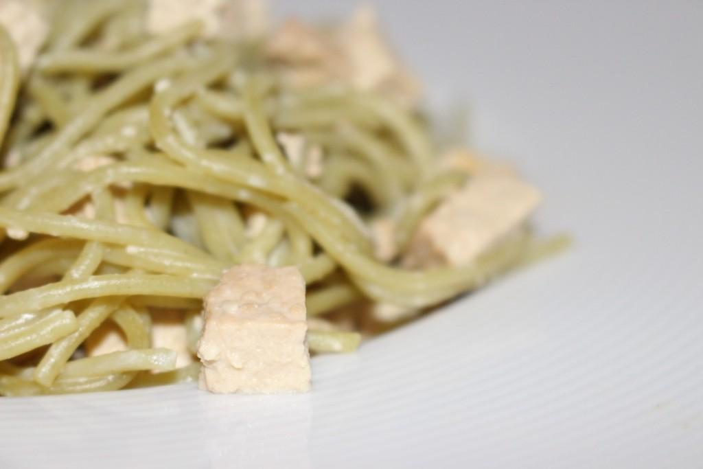Spaghettis de quinoa