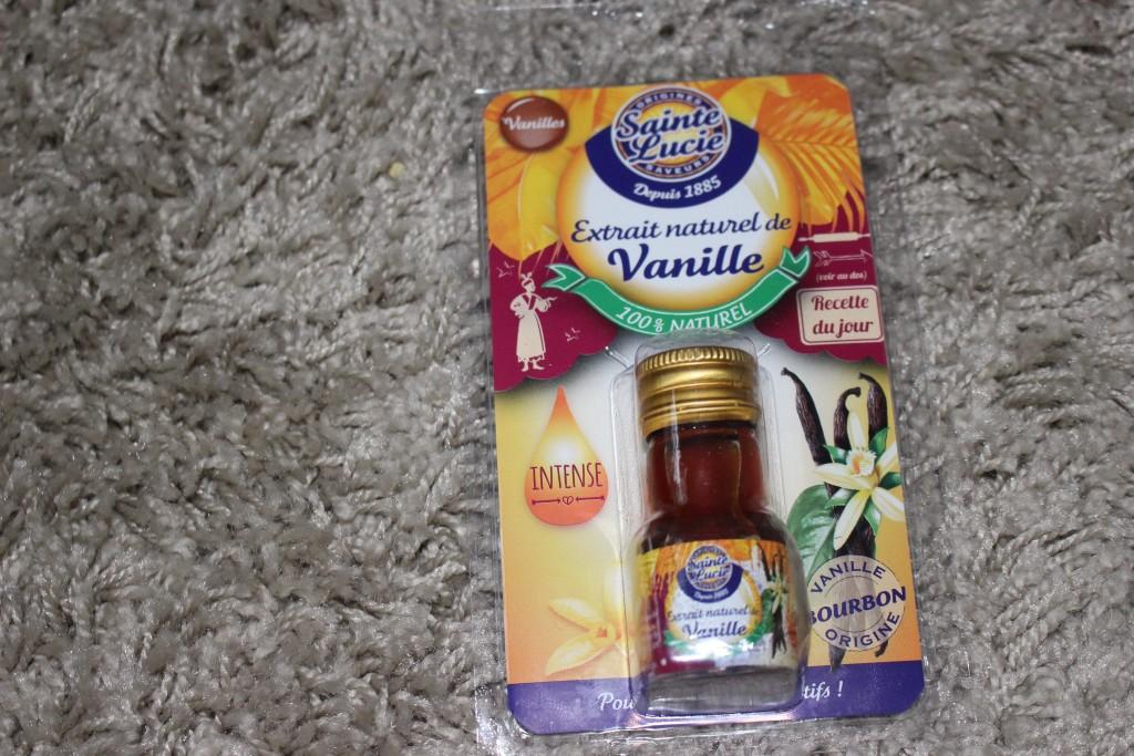 Arôme à la vanille