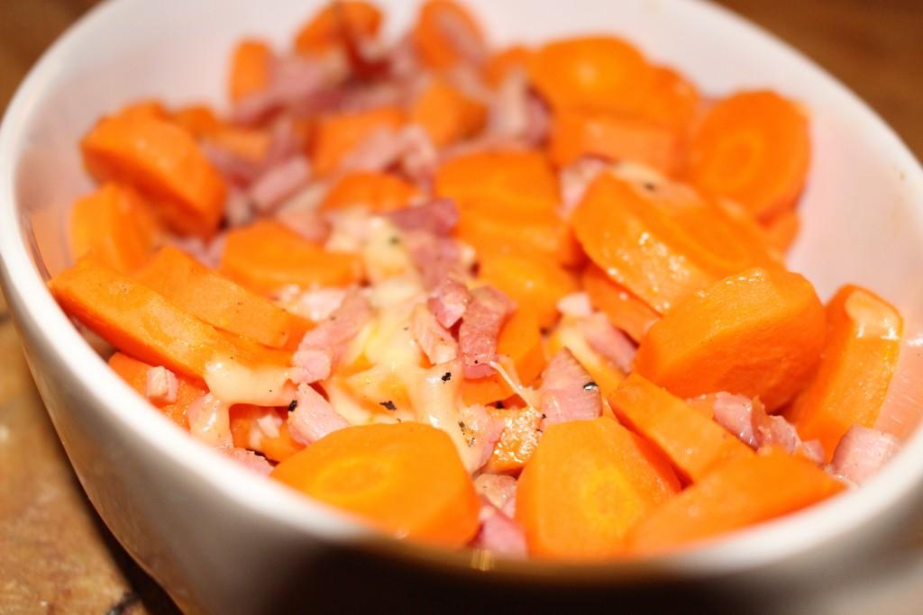 Gratin de carottes façon tartiflette