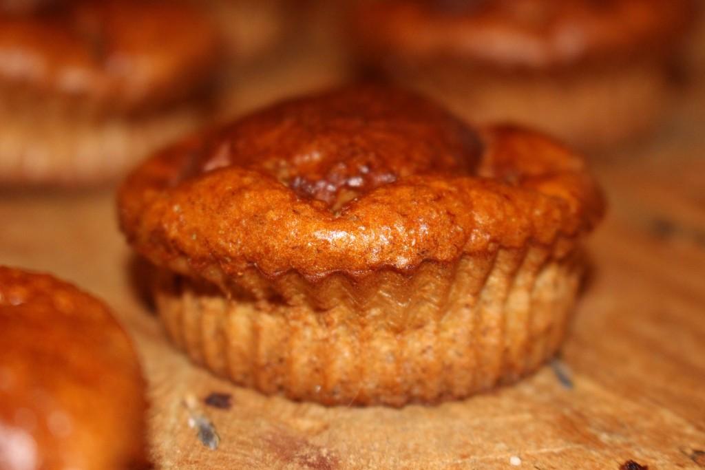 Muffins au raisin