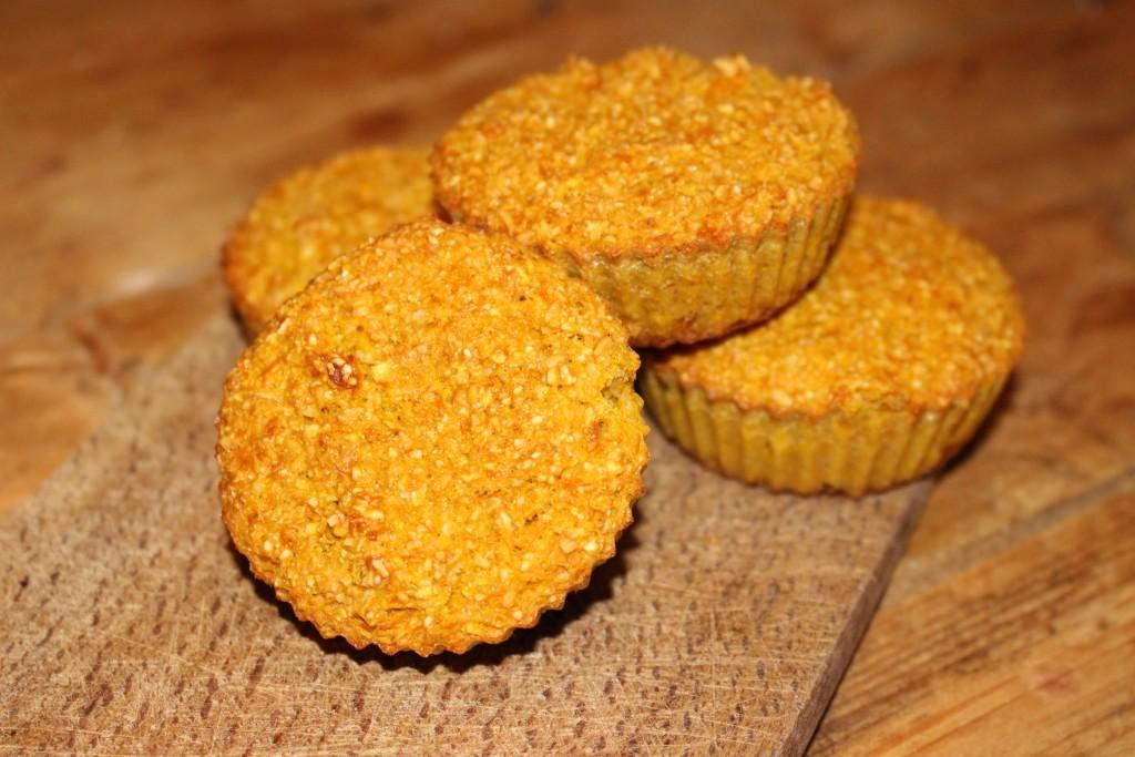 Muffins à la courge butternut