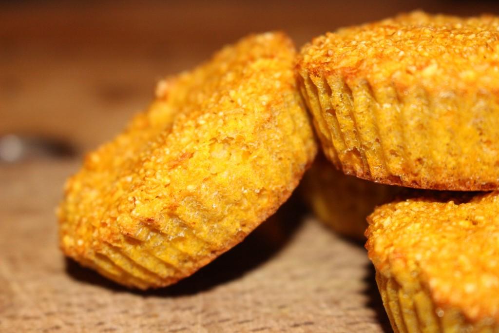 Muffins moelleux à la courge butternut