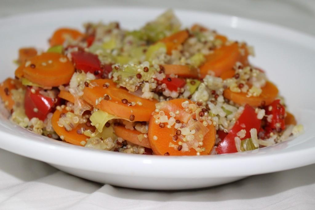 Poêlée de légumes au quinoa