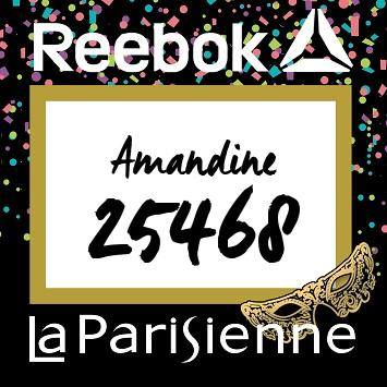 Dossard La Parisienne
