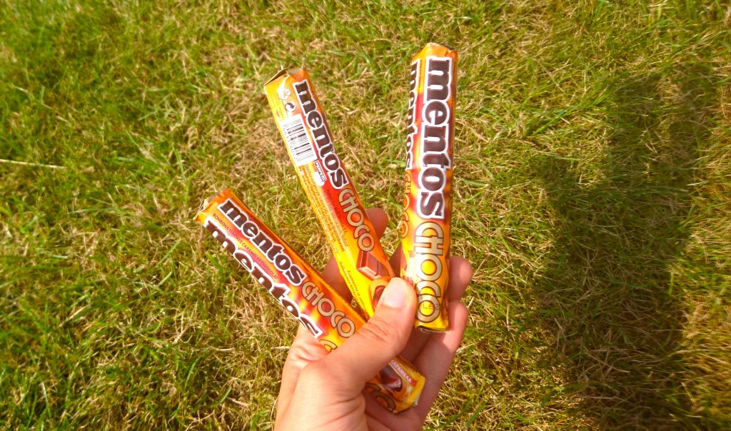 Mentos au chocolat